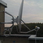 установка спутниковой антенны