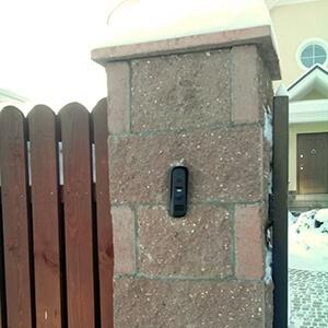 Установка домофона для дома в Химках